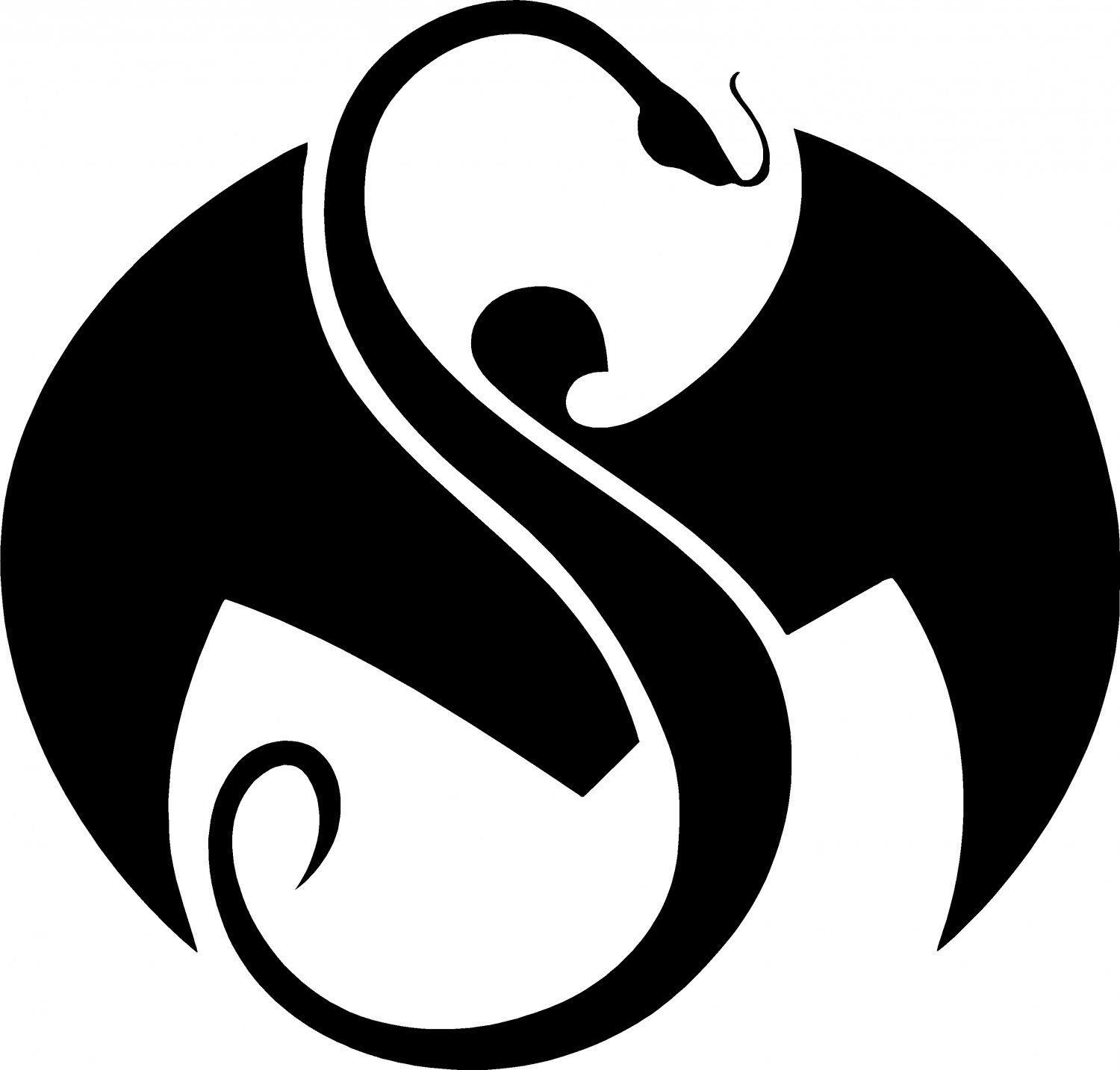 strange music logo vinyl decal sticker