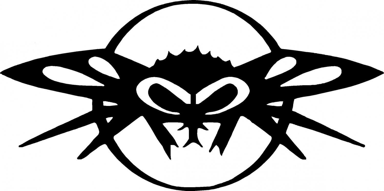 black flys logo vinyl decal sticker