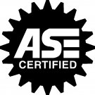 "ASE CERTIFIED MECHANIC VINYL DECAL STICKER  5""!"