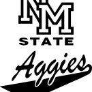 NEW MEXICO STATE AGGIES VINYL DECAL STICKER