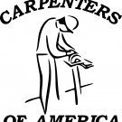 CARPENTER WOODWORKER VINYL DECAL STICKER