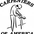 CARPENTER WOODWORKER VINYL DECAL STICKER