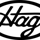 "merle haggard ""hag"" vinyl decal sticker"