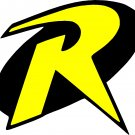 robin from batman full color vinyl decal sticker