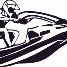 jet ski water ski personal watercraft vinyl decal sticker