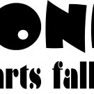 "honk if parts fall off vinyl decal sticker 8"" wide"