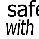 "be safe sleep with a cop vinyl decal sticker 8""!!"
