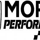 "dodge ram chrysler mopar performance vinyl decal sticker 8.5"" wide!"