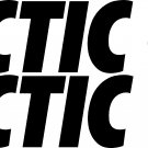 "ARCTIC CAT SET OF 2  7.85"" VINYL STICKERS"
