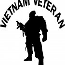 vietnam war veteran vinyl decal sticker