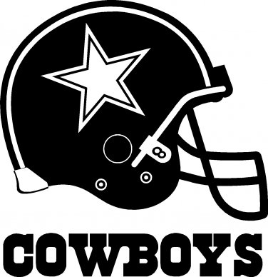 a49f92e6 DALLAS COWBOYS HELMET VINYL DECAL STICKER 6