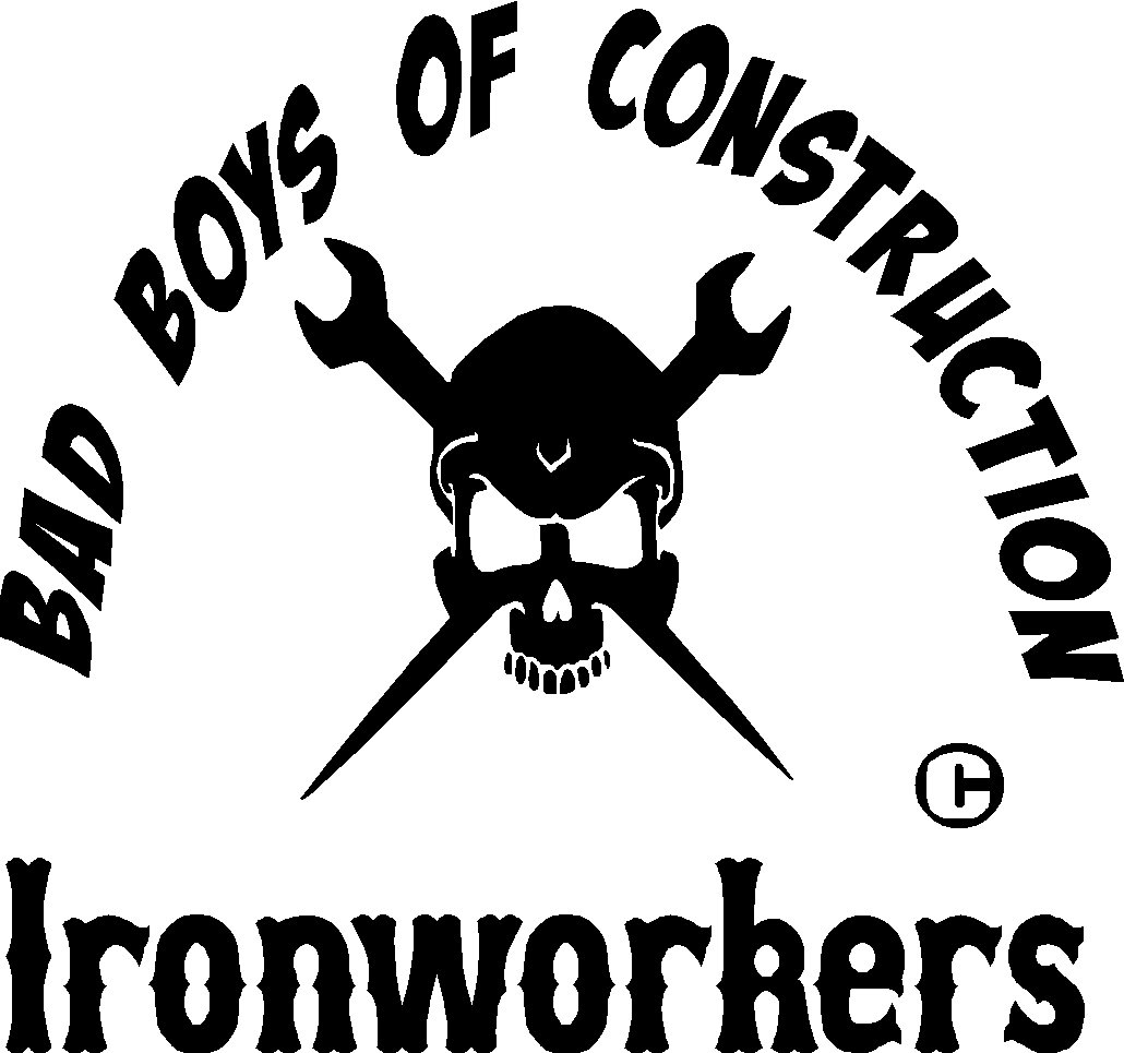Ironworkers Welder Bad Boys Of Construction Vinyl Decal