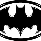 BATMAN VINYL DECAL STICKER WITH DETAIL