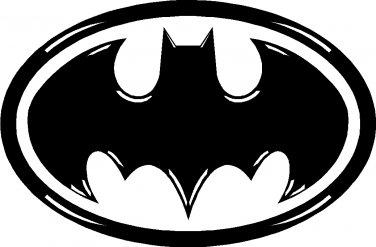 BATMAN VINYL DECAL STICKER WITH DETAIL
