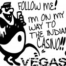 GAMBLER GAMBLE INDIAN CASINO ANTI LAS VEGAS ALCOHOL vinyl decal sticker