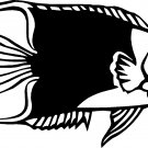 FLOUNDER FISH DEEP SEA VINYL DECAL STICKER
