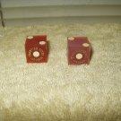 frontier hotel las vegas vintage pair of dice
