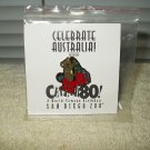 vintage celebrate australia koala bear pin 1996 80 year san diego zoo souvenir