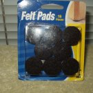 "felt pads brown 1"" box of 16 waxman 7284 tables cedar chest chairs desk cabinets"