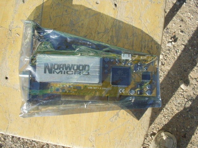 tv computer tuner card sealed norwood micro s800 ver 1.3