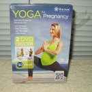 yoga for pregnancy by gaiam 2 dvd set prenatal &postnatal shiva rea 110 min