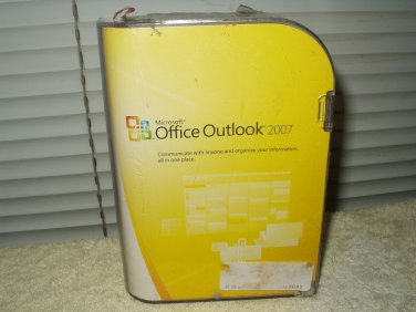 microsoft office outlook 2007  retail version