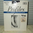 hanes profiles day sheer pantyhose size ef sandalfoot style 00n29 barely black
