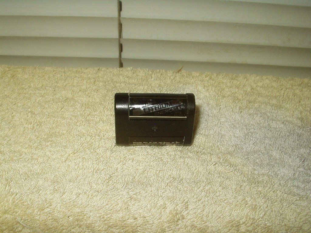 lithium photo battery radio shack 2cr5 23-178 6 volt 1300 ma