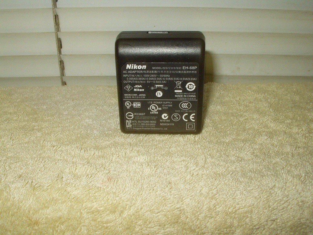 nikon camera eh-68p oem power supply coolpix s70