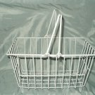 "drying dish rack with handles plastic coated metal 12""w x 8""d x 6"" t dishwasher"
