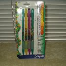 vintage scripto paradise mechanical pencils set of 4 disposable # b5149p sealed