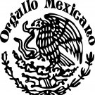 Orgullo Mexicano Mexican Eagle vinyl decal sticker