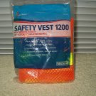 safety vest 1200 by skilcraft # mr 621 medium size reflective orange & yellow