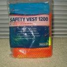 safety vest 1200 by skilcraft # mr 621 medium size reflective orange & yellow