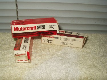 asf52 asf 52 spark plugs lot of 3 by motorcraft.........ford oem