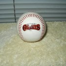 san francisco giants autographed baseball garrett meister sports products corp