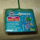 "aquarium fish tank nylon net 16"" total L x 5""net W VIP AQUATICS heavy duty GREEN"
