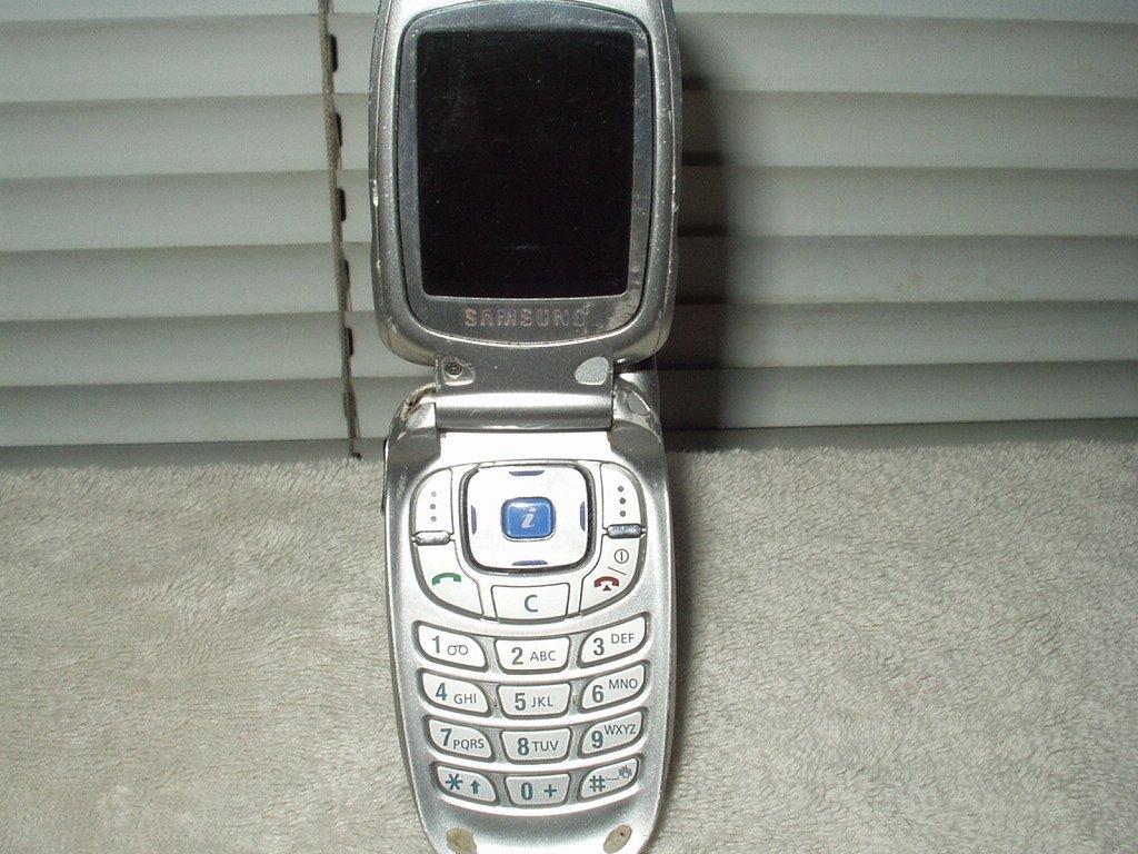 at&t wireless cingular samsung sgh-x427 portable dualband phone part or repair