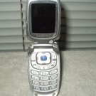 at&t wireless cingular samsung sgh-x427 portable dualband phone part or repair