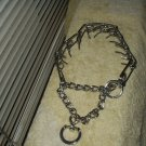 choker collar choke chain for dogs weighs 9 oz adjustable chrome cphoto for size