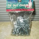chain for pets dogs 10' x 2 mm tie out weather resistant #89020 by titan