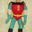 "ROBIN FROM BATMAN 24"" LICENSED PLUSH HARD PLASTIC HEAD"