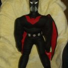 "BATMAN BEYOND 24"" LICENSED PLUSH WITH PLASTIC HEAD"
