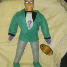 "RIDDLER FROM BATMAN 19"" LICENSED PLUSH WITH PLASTIC HEAD FROM 1998"