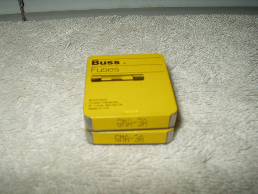 buss fuse # gma-3a fast acting lot of 5 each per order