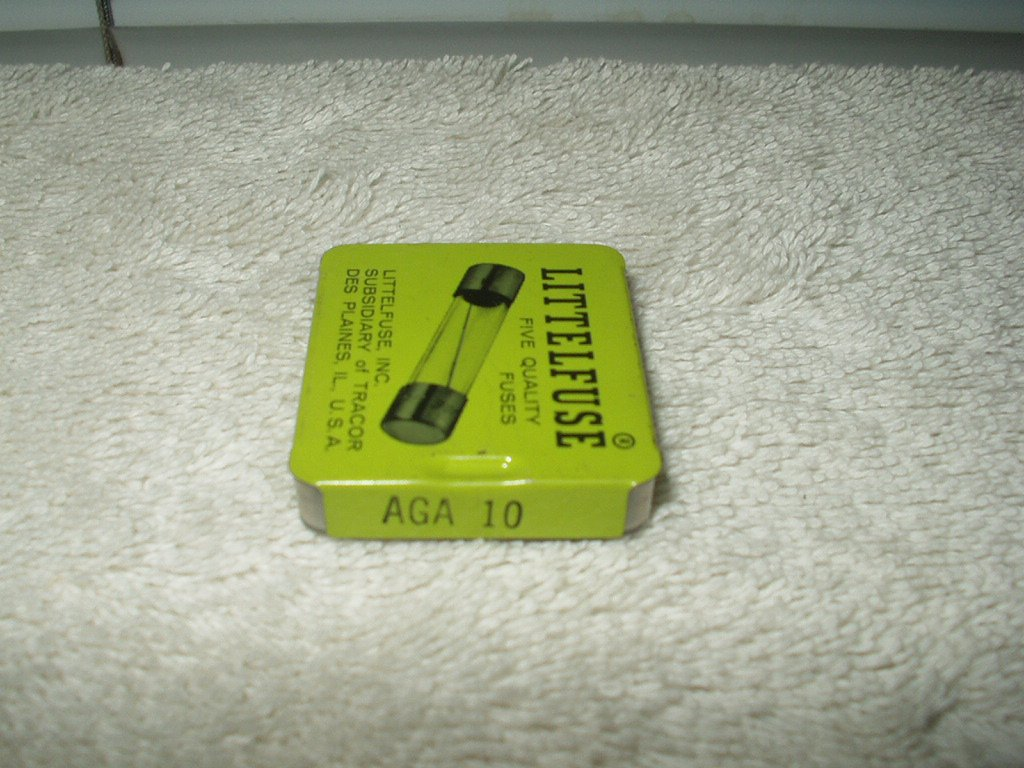 littlefuse aga 10 fuses lot of 5 each fast acting for auto accessories