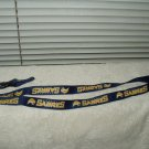 buffalo sabres lanyard keychain badge holder aminco # NHL-LN-095-22 licensed 22""