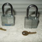 chateau 40 mm pad lock padlock lot of 2