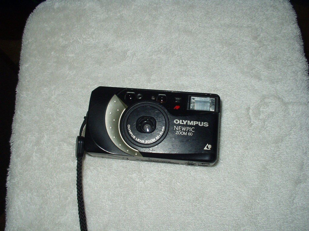 olympus newpic zoom 60 camera only with 30 mm- 60 mm lens