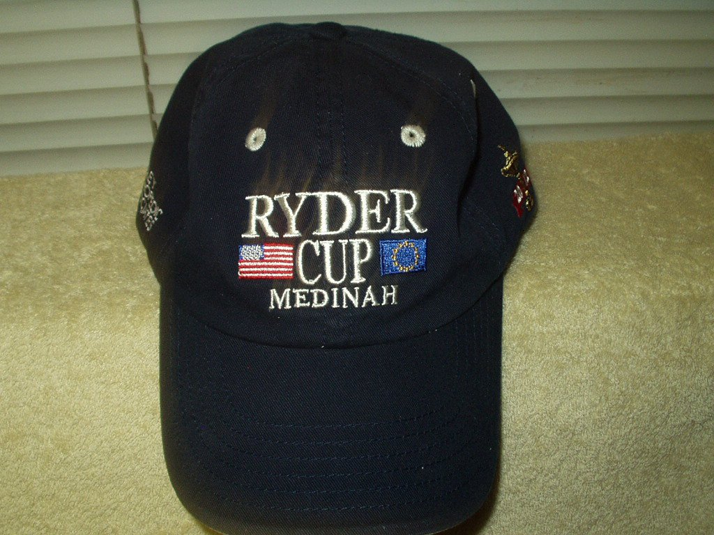 ryder cup medinah country club 2012 hat baseball cap embroidered